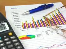 Rapporto di vendite 2 Immagini Stock Libere da Diritti
