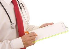 Rapporto medico Fotografie Stock Libere da Diritti