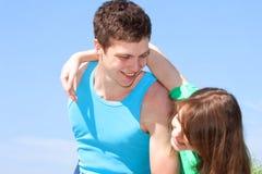 Rapports entre les hommes et les femmes. Photographie stock libre de droits