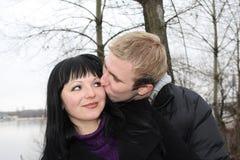 Rapports romantiques Images libres de droits