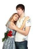 rapports romantiques Photo libre de droits