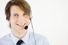 Rappresentante di servizio di assistenza al cliente Immagini Stock Libere da Diritti