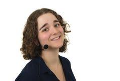 Rappresentante di servizio di assistenza al cliente, servizio clienti fotografia stock libera da diritti
