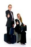 Rappresentanti, viaggiatori Immagine Stock