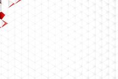 Rappresentazione astratta 3d della superficie di bianco Fotografia Stock Libera da Diritti