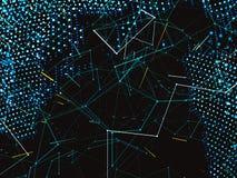 Rappresentazione astratta del mondo digitale Immagini Stock Libere da Diritti