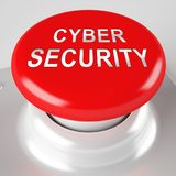 Rappresentazione cyber della salvaguardia 3d del sistema economico di sicurezza illustrazione vettoriale