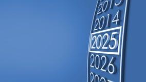 rappresentazione 2025 3d Fotografia Stock