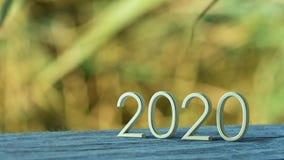 rappresentazione 2020 3d illustrazione di stock