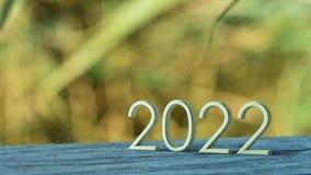 rappresentazione 2022 3d illustrazione di stock