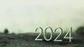 rappresentazione 2024 3d royalty illustrazione gratis