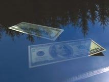 Rappresentazione d'affondamento di valuta 3d royalty illustrazione gratis