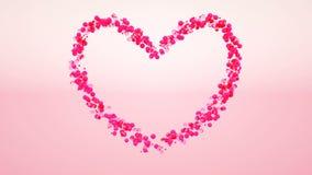 rappresentazione 3d del giorno di S. Valentino illustrazione di stock