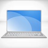 rappresentazione 3d di un computer portatile Fotografia Stock Libera da Diritti