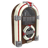 rappresentazione 3d di un jukebox Immagine Stock
