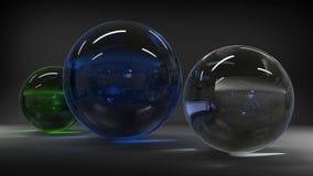 rappresentazione 3d Figure astratte 3d Immagine Stock