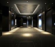 Rappresentazione del corridoio moderno Immagine Stock Libera da Diritti
