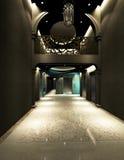 Rappresentazione del corridoio moderno Immagini Stock