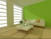 Rappresentazione del salone interno Fotografia Stock