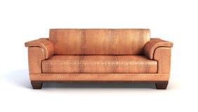 Rappresentazione del sofà 3D Fotografie Stock Libere da Diritti