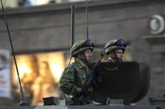 Rappresentazione dell'arma di battaglia Fotografia Stock Libera da Diritti
