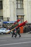 Rappresentazione dell'arma di battaglia Fotografie Stock Libere da Diritti
