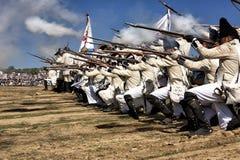 Rappresentazione della battaglia di Bailen fotografia stock