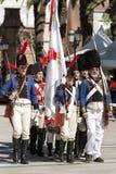 Rappresentazione della battaglia di Bailen, provincia di Bailén Jaén, fotografie stock