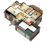 Pavimento del garage della pittura immagine stock libera - Casa ammobiliata ...