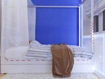 Rappresentazione della stanza del ` s dei bambini di interior design illustrazione vettoriale
