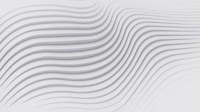 Rappresentazione della superficie 3d del fondo dell'estratto della banda di Wave Immagine Stock Libera da Diritti