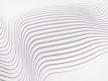 Rappresentazione della superficie 3d del fondo dell'estratto della banda di Wave Immagini Stock