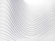 Rappresentazione della superficie 3d del fondo dell'estratto della banda di Wave Fotografia Stock