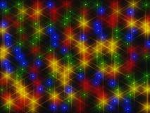 Rappresentazione di abbagliamento 3d delle luci Immagini Stock Libere da Diritti