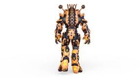 rappresentazione di 3D CG dell'umanoide video d archivio