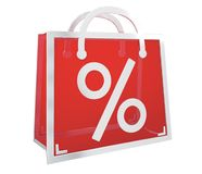 Rappresentazione digitale delle icone 3D di vendite di Black Friday Fotografia Stock