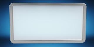 Rappresentazione digitale semplice della compressa 3D degli schermi Immagini Stock Libere da Diritti