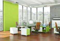 Rappresentazione moderna di interior design 3d del Ministero degli Interni immagini stock libere da diritti