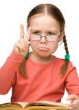 Rappresentazione triste della bambina Immagine Stock Libera da Diritti