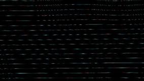 Rappresentazioni generative Onde orizzontali di struttura del tipo di vetro stock footage