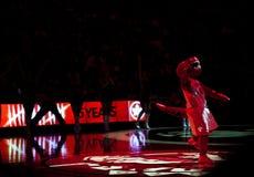 Торонто Rapters против Los Angeles Lakers Стоковые Изображения RF