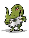 Raptor Cog Cartoon Royalty Free Stock Images