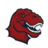 Raptor head mascot Royalty Free Stock Photography