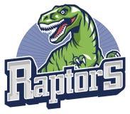 Raptor mascot Stock Images