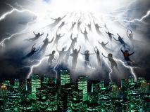 The Rapture Stock Images