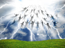 The Rapture Stock Photo