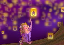 Free Rapunzel Stock Photography - 111819982