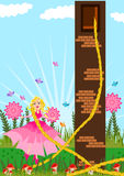 rapunzel 免版税库存图片