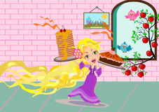 Rapunzel Royalty Free Stock Photography