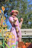 Rapunzel at Disneyland Royalty Free Stock Photo